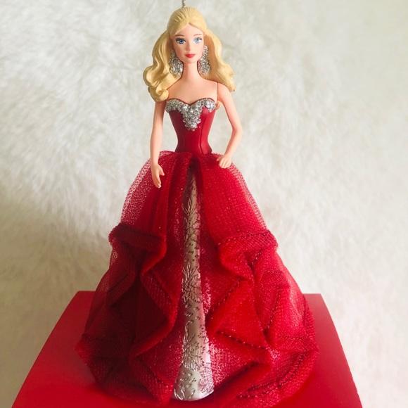 hollmark Other - Hallmark Holiday Barbie Tree Ornament